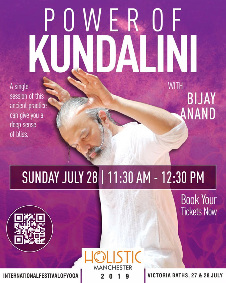 Kundalini Yoga with Bijay Anand, Russia 18th - 26th September 2019